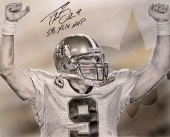 Drew Brees by MarkosTheGreat