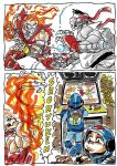 Megaman Sf2 by caiooliveira