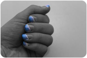 Blue ombre by NellyL