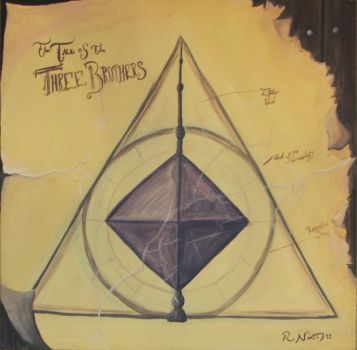 Tale of the Three Brothers Deathly Hallows by RmNorton