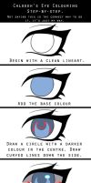 Eye Colouring Step-by-Step by Chloeeh