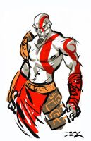 Kratos by DouEdgeZword