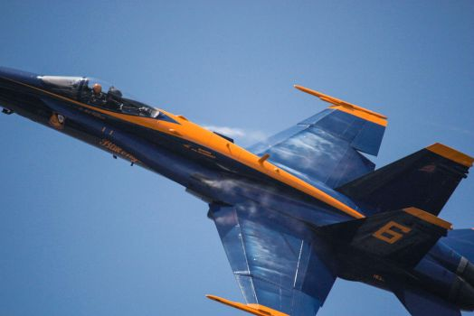 Blue Angels Over Charleston S.C. Redux #2 by ExposurePersonality
