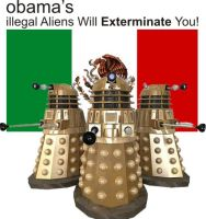 Obama's illegal Aliens will Exterminate You! by wwu