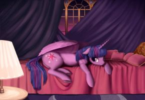 In Luna's apartments by Revealdance19