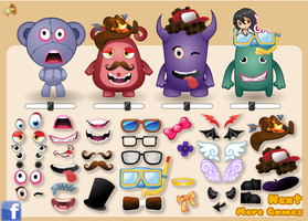 Create A Creature - Dressup24h.com by willbeyou