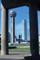 Reunion Tower by EyeInFocus