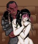 Orc and Human by Shabazik