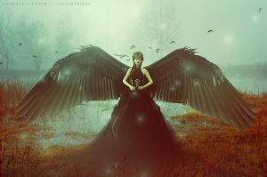 Black Swan by DarkCrea