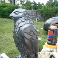 Maltese Falcon progress 3 - paint by Kolin-Roberts