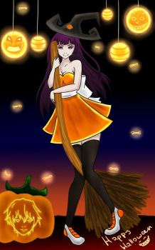 Happy Happy Halloween :3 by Victorika67Zombie