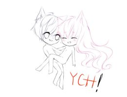 :YCH:Chibi Couplee(closed) by Navani