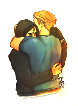 wait for me to come home - stucky by lumen-a