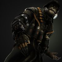 Scarecrow by Hawkmccloud