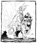 TFAW SDCC auction art by ColtNoble