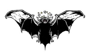 Batty Tat for muh back by LIVIDUP-MikeyFNC