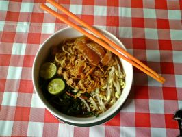 Mie Kangkung by yessy04maple
