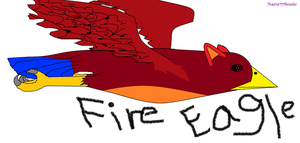 Fire Eagle by Naru77Sonic