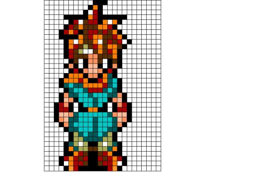 Crono Sprite by songofstorms422