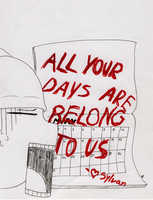 ALL YOUR DAYS ARE BELONG TO US by LeaTheWolf