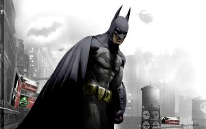 Batman in Arkham City by MoonySascha