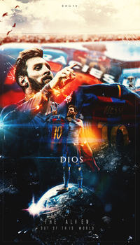 Lionel Messi | The ALIEN | 2017 by RHGFX2