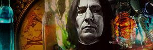 Severus Snape Banner by MarySeverus