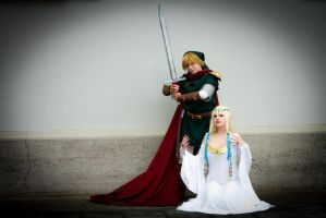 LoZ: The Hero and The Goddess by KuraiOfAnagura