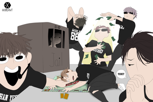 EXO Monopoly by Rehteaa
