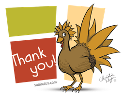 Thank you from Rana Turkey by TheDelphina