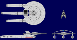 USS Armstrong NCC-1769 by kavinveldar