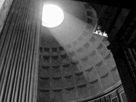 The light of the Pantheon by Lunalaurel