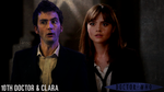 Clara Oswald and The Tenth Doctor AU Poster by feel-inspired