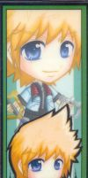 Roxas Bookmark by chuchino37