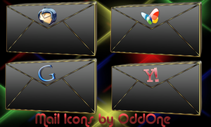 Email icons by 0dd0ne