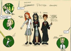 Harriet Potter - colored by jaerie