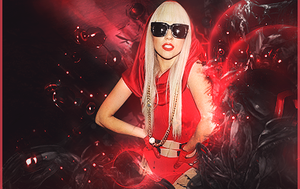 Red GaGa. by mikeamadeuz