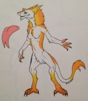 Sergal Character Design [COMM] by Shadow-Dragon27