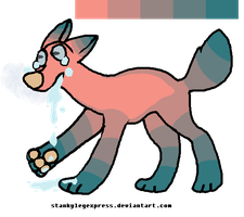 Melt Away adopt (closed) by bourbon-whiskey