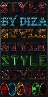 Text styles by Diza - 6 by DiZa-74