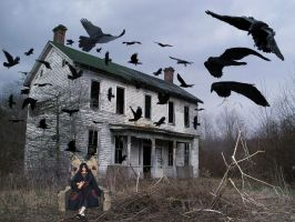 Itachi and his crows by Zozzy-evil