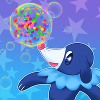 Popplio HYPE by dead-wolfwood