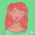 Red Head by Bloodlune
