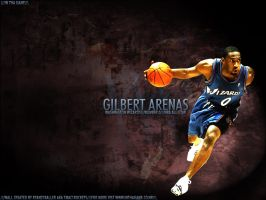 Gilbert Arenas by ryancurrie
