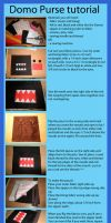 Domo purse tutorial by Pandannabelle