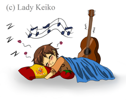 It's Siesta Time for Spain by LKeiko