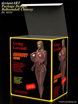 Package Design: Balloondoll Chinsey by TheInflater