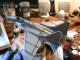 Revell 1/48 MiG 29A progress 4.0 by Visual-Smut