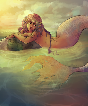 Mermaid by Fukairi
