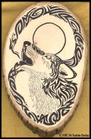 Wood Spirit- Infinity Wolf by Nashoba-Hostina